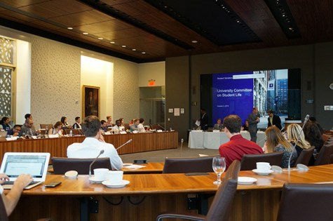 University Committee meeting focuses on expansion, student representation
