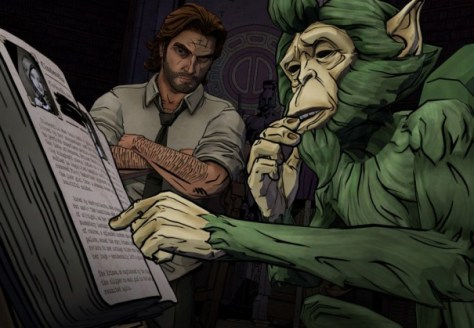'Fables' smoothly adapts into game series 'Wolf Among Us'