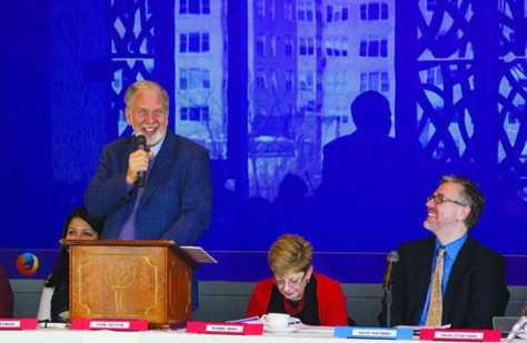 Attendees pass academic calendar, make proposals at senate meeting