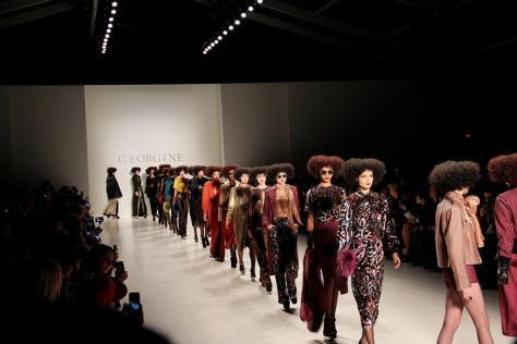 Furs, pastels take runway during New York Fashion Week