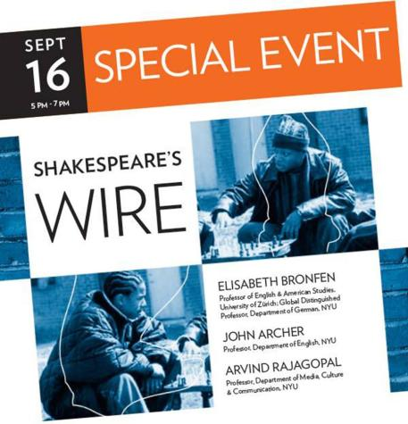 Shakespeare, 'The Wire' share common ground
