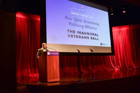 Inaugural Vet Ball Honors Those at NYU Who Have Served