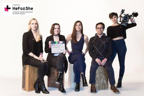 Students Film for 'HeForShe'