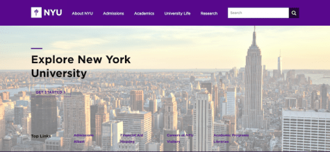 NYU's Website Is Now Device-Agnostic
