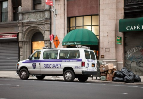 NYU student arrested for building air rifles in dorm
