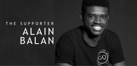 Alain Balan | The Supporter