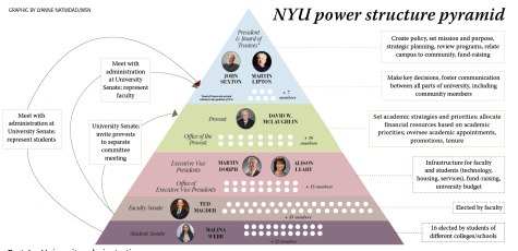 Push for transparency: examining NYU decision-making process