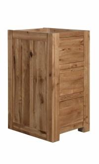 Narrow 3 Drawer Base Cabinet