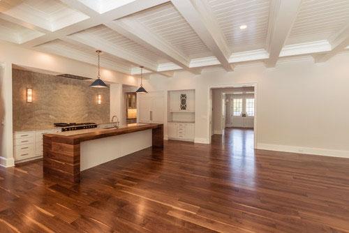 Wide Plank Black Walnut Flooring In North Carolina Oak