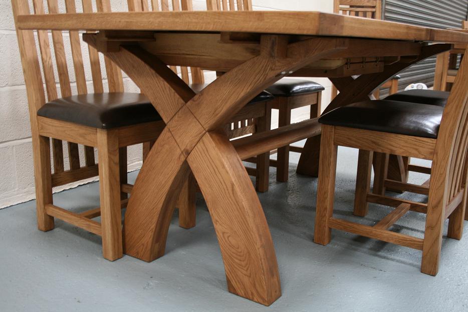 Country Oak Furniture Rustic Oak Dining Table Furniture