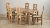 6ft Dining Table Sets | Oak Furniture Land