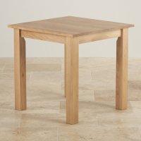 Hudson Square Dining Table in Natural Oak | Oak Furniture Land