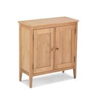 Hanlith Oak - 2 Door Storage Cabinet