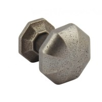 Cabinet Door Knobs | Cast Iron | Pewter | 32mm | 38mm