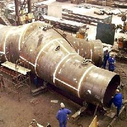 Dillidur 400HB penstock for a hydroelectric project