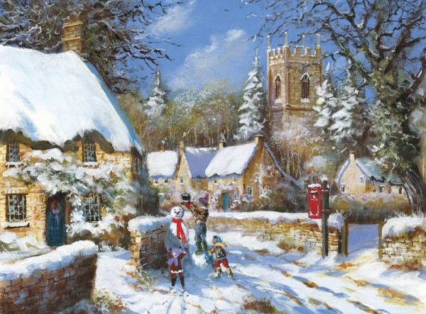 3d Snowy Cottage Animated Wallpaper Free Download Christmas Cards 2014 Oak Tree Homes Trust
