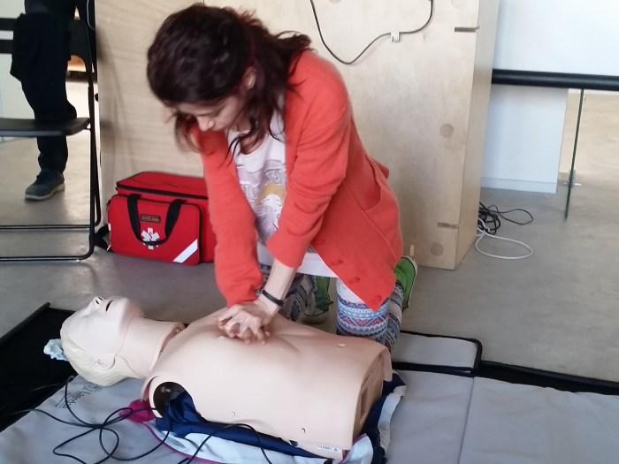 Oana Racheleanu - curs de prim ajutor