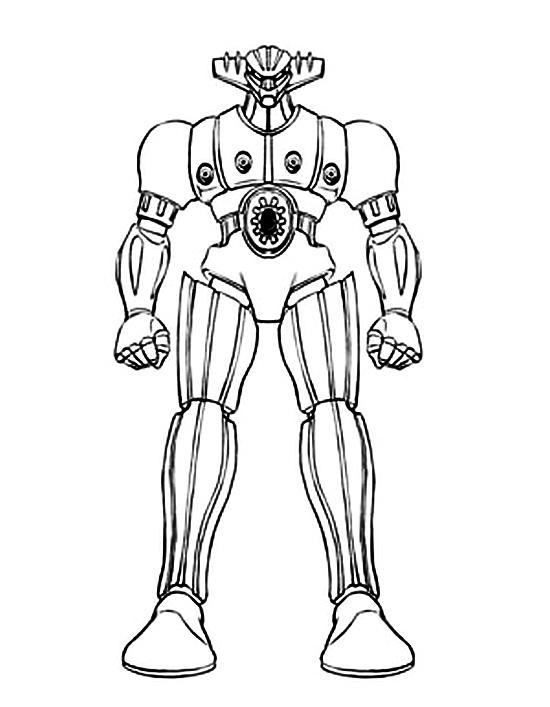 Gig Robot Da Colorare