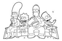 The Simpsons - Immagini da colorare