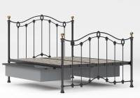 Metal Bed Frame With Underbed Storage - Bed Frame Ideas