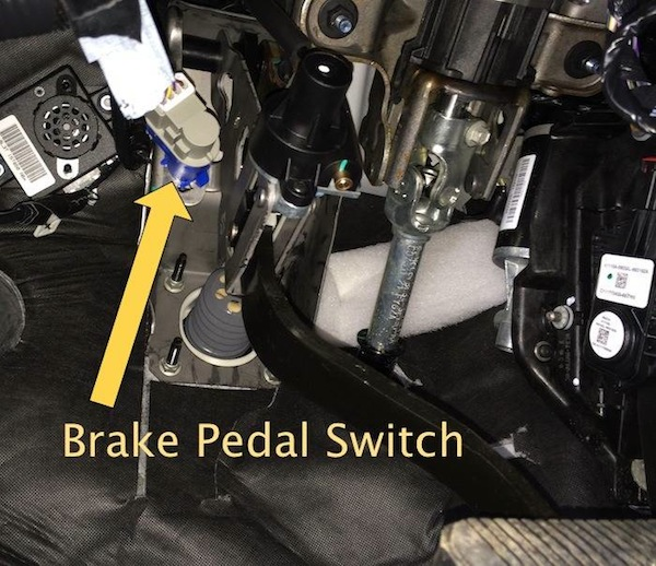P0571 Cruise Control/Brake Switch A Circuit Malfunction