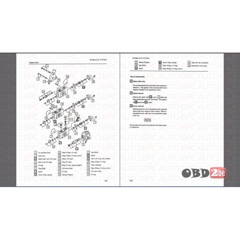 Forklift Mitsubishi Fg15n Wiring Diagram Crown Forklift Wiring