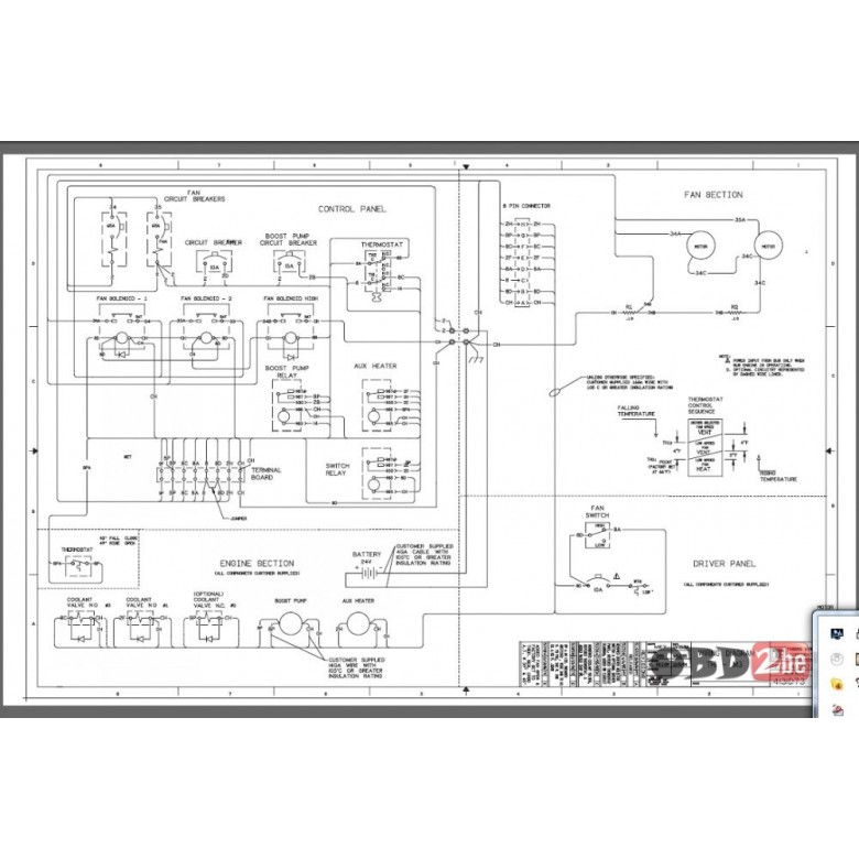Thermo King Wiring Diagrams Electronic Schematics collections
