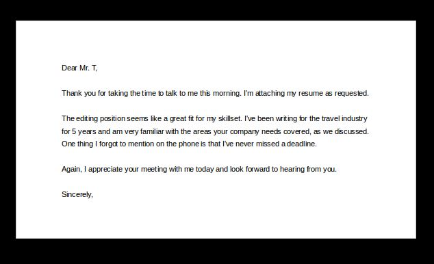 Phone interview thank you email - resume thank you email