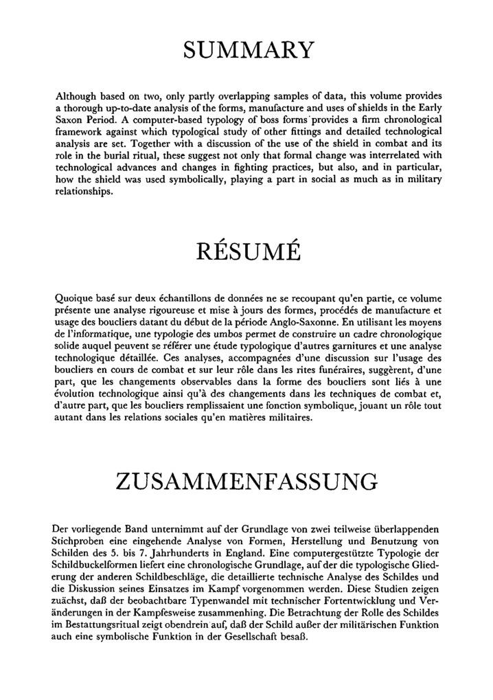 resume summaries samples
