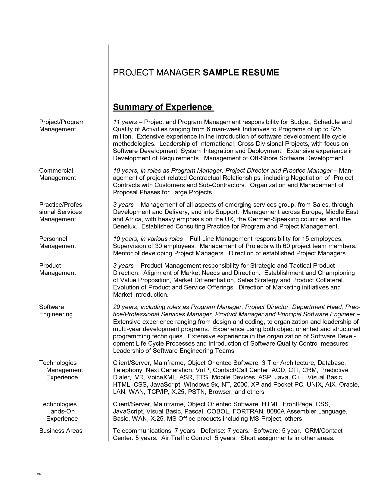 personal pronouns resume examples