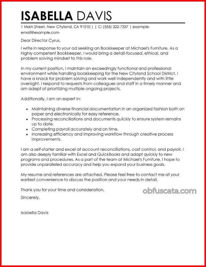 Cover Letter - how to write the perfect cover letter