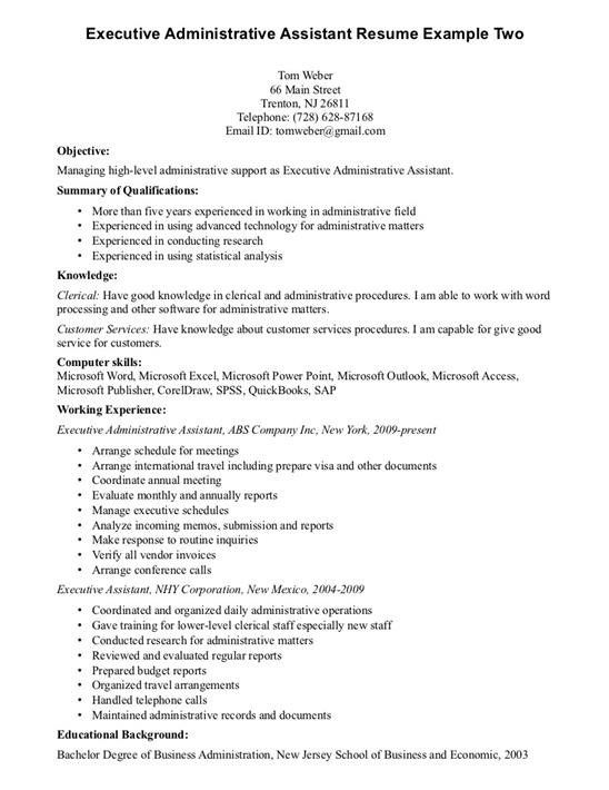 Sample Advertising Assistant Resume account executive assistant - marketing assistant resume