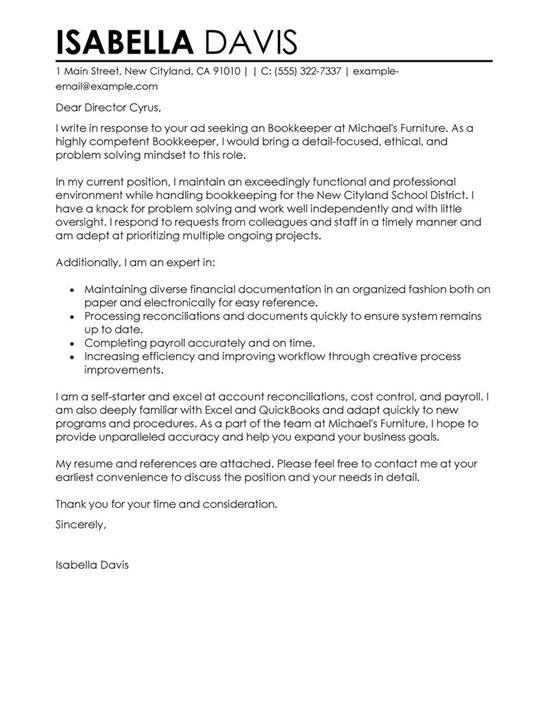 Best Cover Letter Templates - professional cover letter template