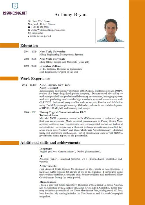 Best Resume Format - what is the best resume format