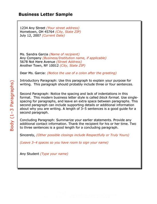 Company Business Letter Best Business Letter Format Example Ideas - business letter templet
