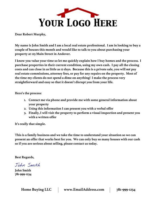Professional Letter