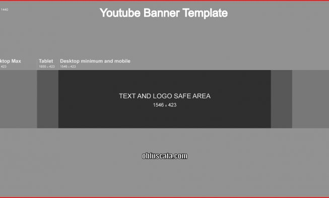 What is a Youtube Banner Template? - yt banner template