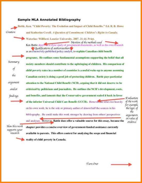MLA Format Template - mla format template