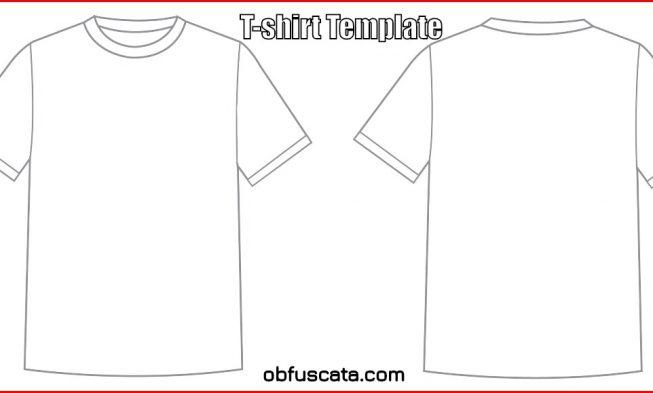 T-Shirt Template Vector - t shirt template