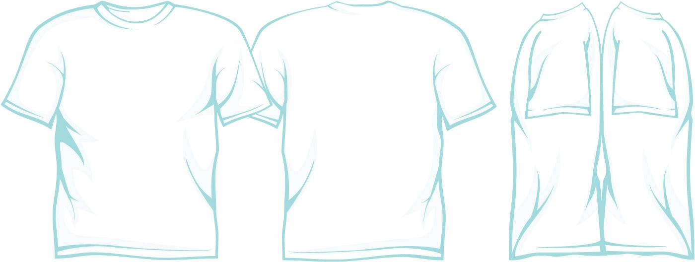 T-Shirt Template Illustrator - t shirt template