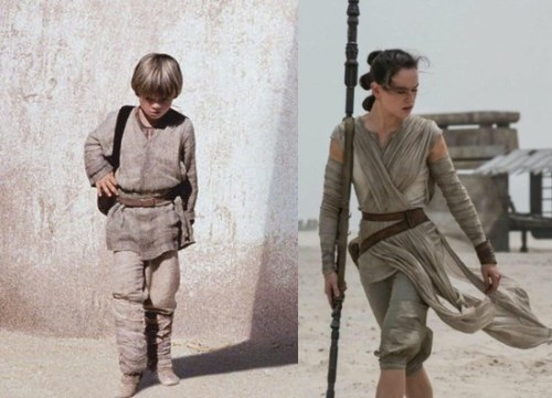 Star Wars The Force Awakens reboots The Phantom  Menace, by Andreas Wanda, Images: Lucasfilm / Disney