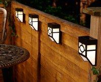 Solar Fence Light - Object