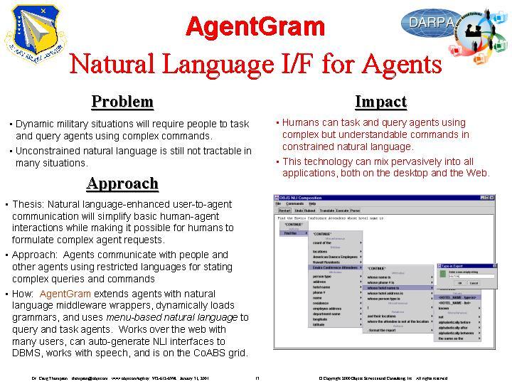 OBJS Agility Final Report - AgentGram Prototype