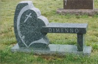 Our portfolio of granite memorial benches and monu-benches ...