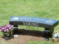 Our portfolio of granite memorial benches and monu-benches ...