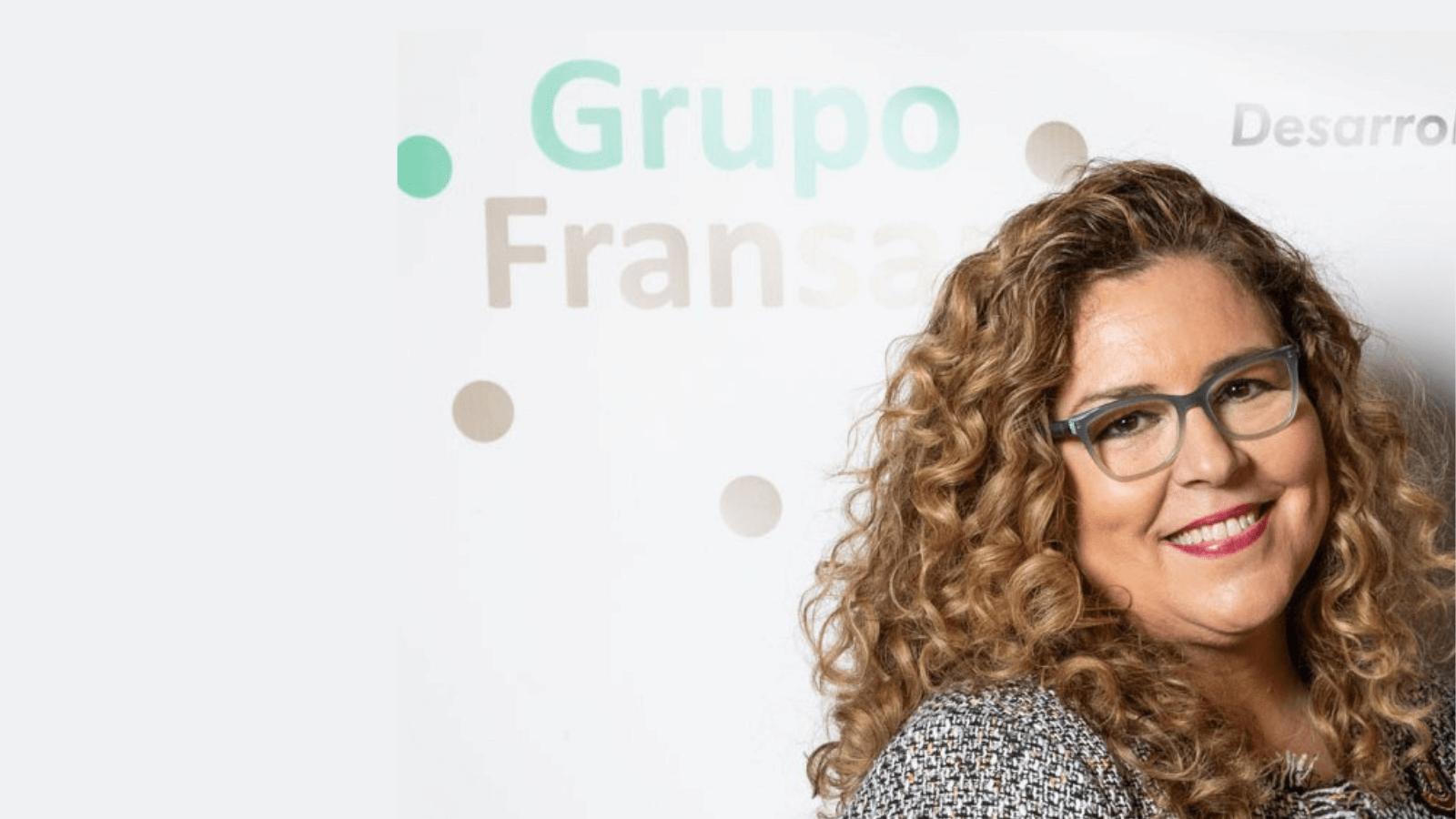 Diseño siAlicia Sánchez Guerrero, socia responsable de Recursos Humanos, calidad y responsabilidad social en Grupo Fransán n título