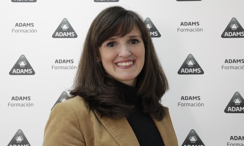 Paloma Miña, responsable de Comunicación y RSC de ADAMS Formación