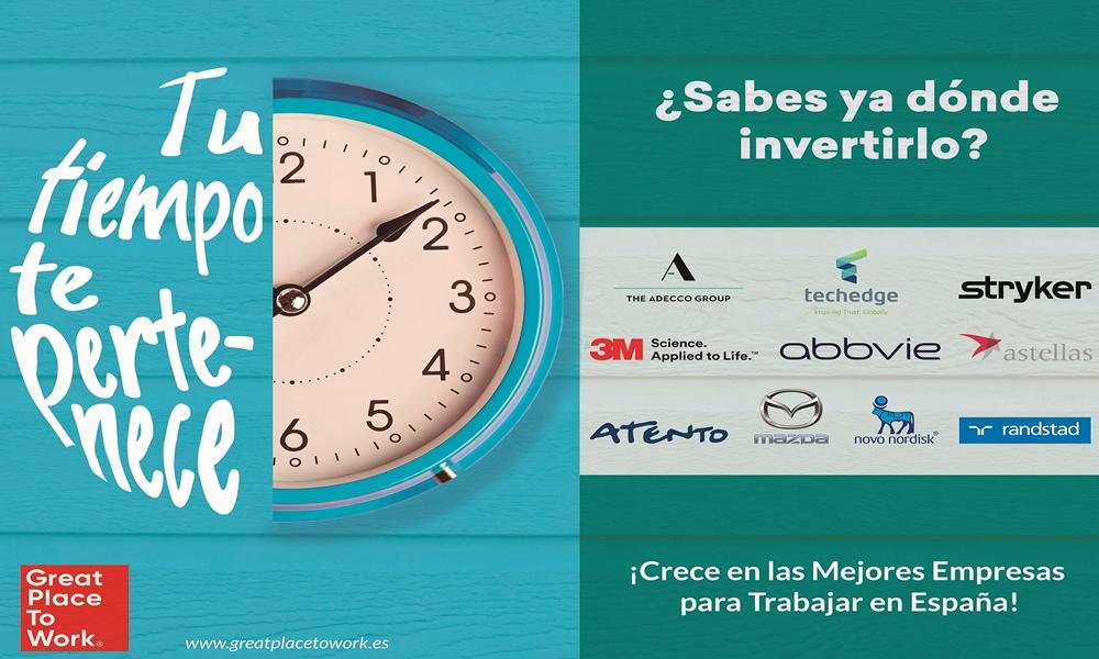 Las mejores empresas para trabajar en España te acompañan en el Metro