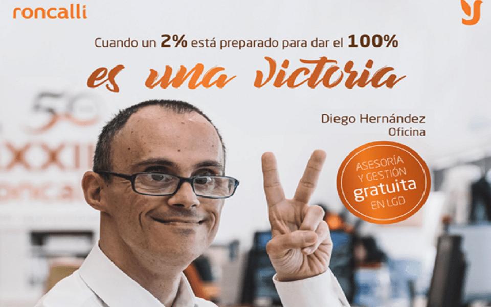 Fundación Juan XXIII Roncalli lanza una campaña por el empleo de personas con discapacidad
