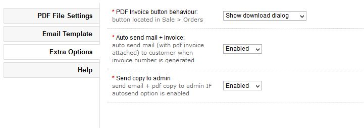 OpenCart PDF Invoice (with autosend) Install Guide - when invoice is generated
